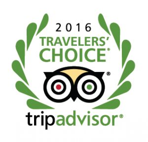 Traveler's Choice Award 2016